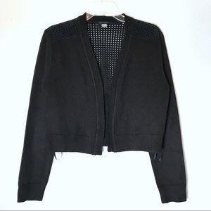 bd042345 Tommy Hilfiger Sweaters - Tommy Hilfiger Open Cardigan Crop Waist